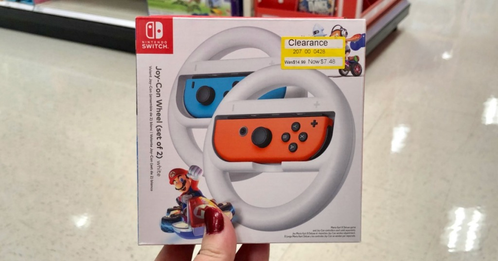 Nintendo Joy-Con Wheel 2-Pack Possibly Only $4 48 at Target