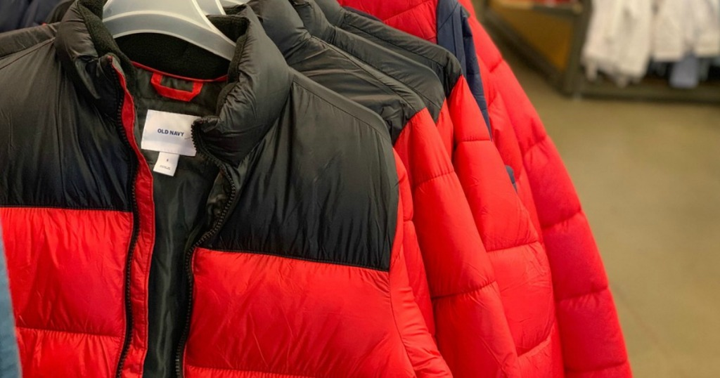 Old Navy Puffer Jackets