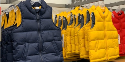 Old Navy Kids Puffer Vests Only $9.60 (Regularly $23) + More