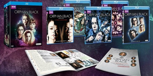 Orphan Black: The Complete Series Blu-ray Boxed Set Only $43.99 Shipped (Regularly $110)