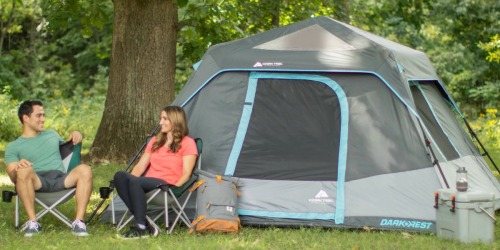 Ozark Trail 6-Person Dark Rest Instant Cabin Tent Only $59 Shipped (Regularly $119)