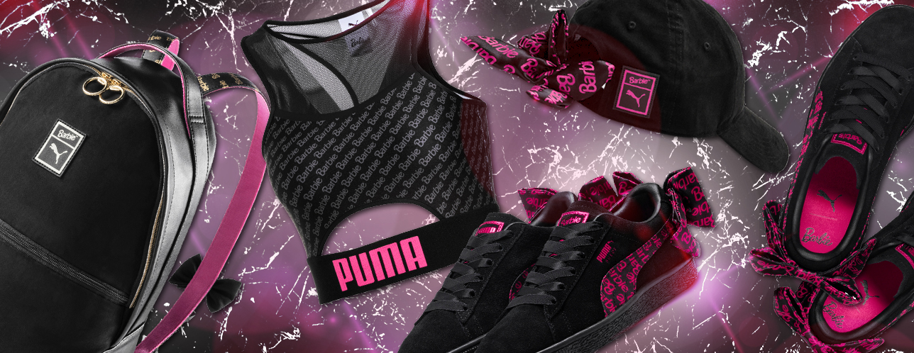 PUMA X Barbie launch new shoe doll line – PUMA-BARBIE Collection includes shoes, clothes, and accessories