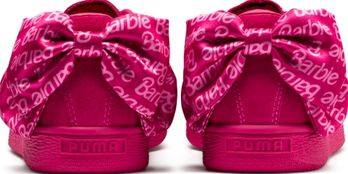 PUMA and Barbie Launch New Collection Featuring Suede Sneakers, Apparel, Dolls, & More