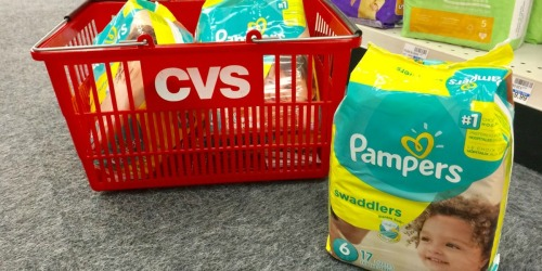 Pampers Jumbo Pack Diapers Only $5 Each After CVS Rewards