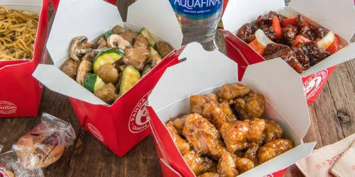 Panda Express Family Feast Meal as Low as $27 | Includes 3 Large Entrees & 2 Large Sides