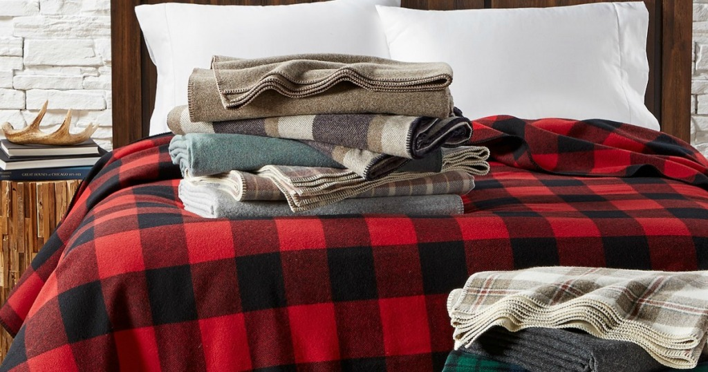 60 Off Pendleton Wool Blankets Free Shipping At Lands End Hip2save