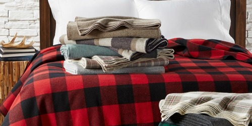 Rare 50% Off Pendleton Wool Blankets + Free Shipping