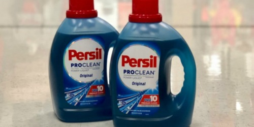 Persil Laundry Detergent Only 24¢ at Walmart After Cash Back