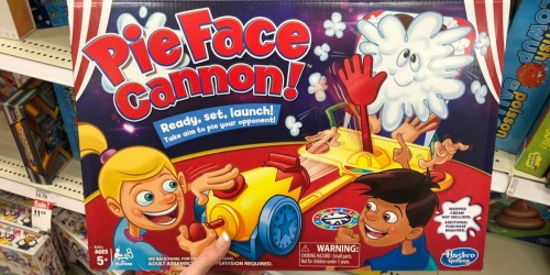 Pie Face Cannon Game $9.74 (Regularly $25) w/ Free Target Store Pick Up + More