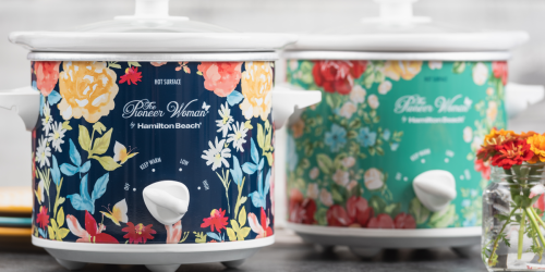 Walmart: The Pioneer Woman 1.5 Quart Slow Cooker 2-Pack Just $19.88 (Regularly $45) + More