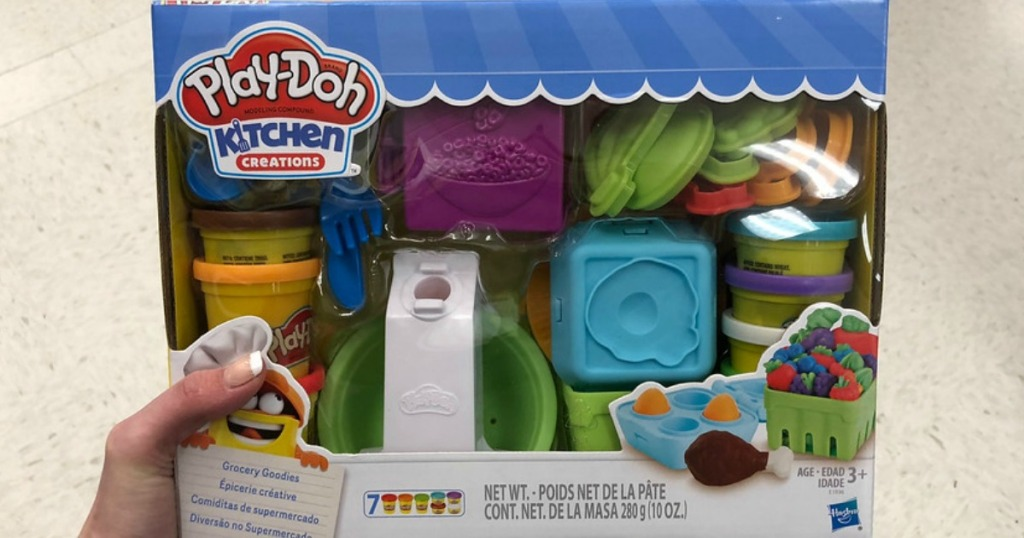 Play Doh Kitchen Creations Grocery Goodies Set Only 5 99 Regularly