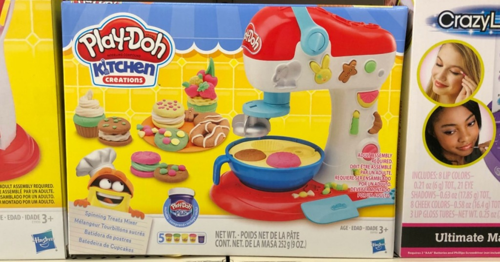 Play-Doh Kitchen Creations Spinning Treats Mixer on store shelf