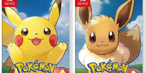 Pokémon Let's Go! Nintendo Switch Games Only $42.95 Shipped