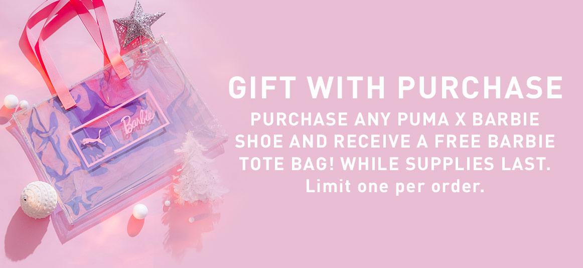 PUMA X Barbie launch new shoe doll line – Puma Barbie Tote Bag ad
