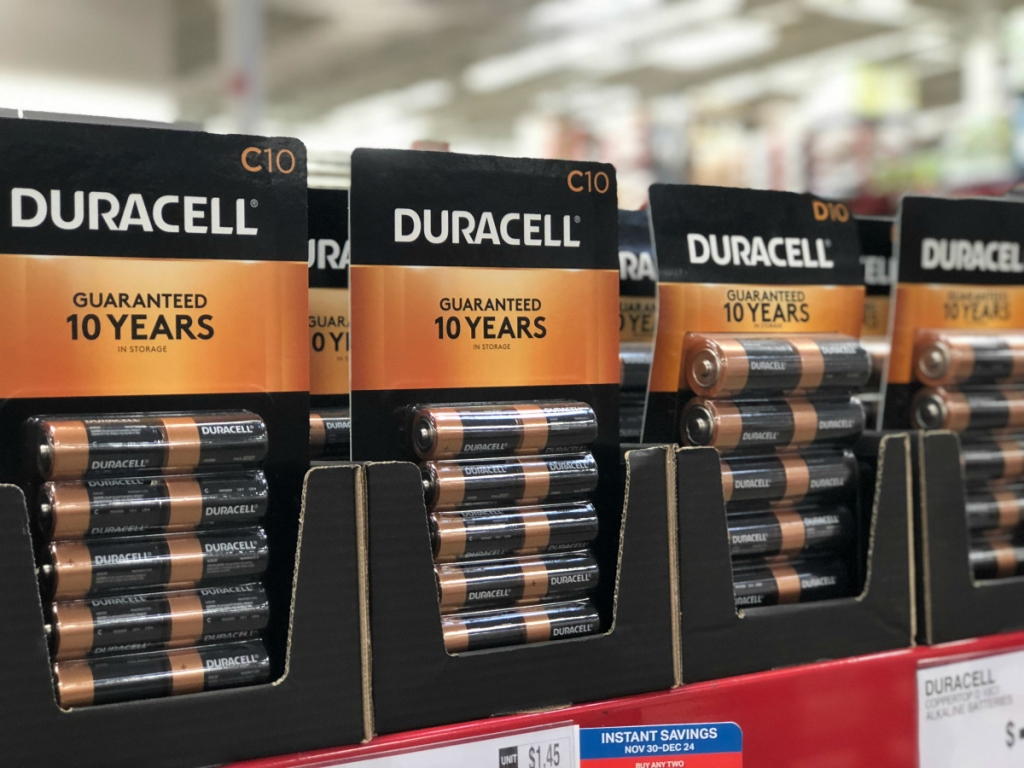 Sam's Club Duracell instant savings