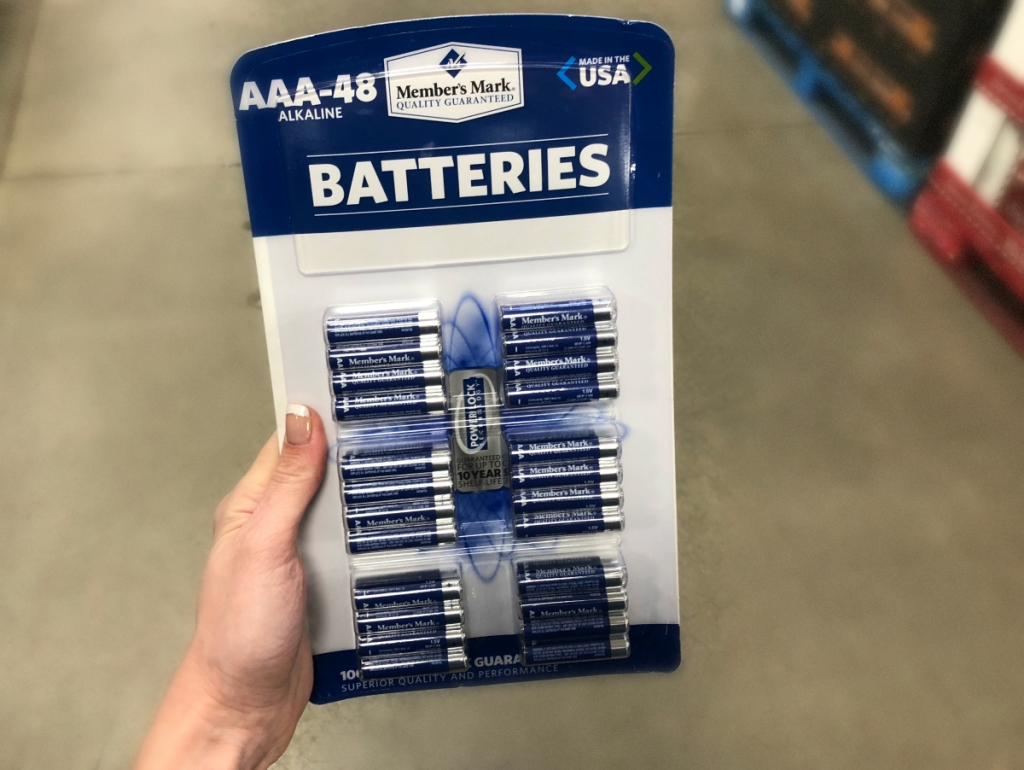 Sam's Club Members Mark batteries