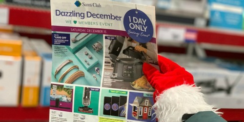 Sam's Club One Day Sale is December 15th! Save on Apple Watches, Shark Vacuums & More