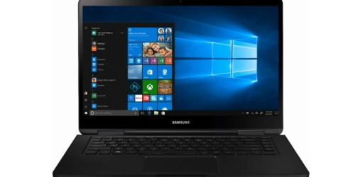 Samsung Notebook 7 Spin 2-in-1 15.6″ Touch-Screen Laptop Only $549.99 Shipped (Regularly $800)