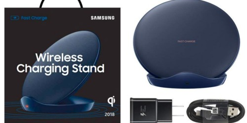 Amazon: Samsung Fast Charge Wireless Charging Stand Only $29.99 Shipped (Regularly $70) + More