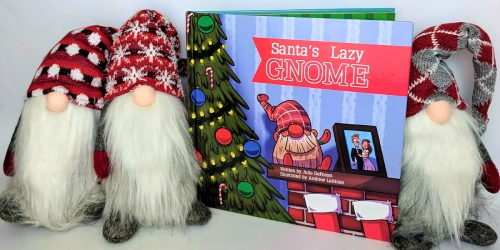 Tired Parents Rejoice! Santa's Lazy Gnome is the Stress-Free Alternative to Elf on the Shelf