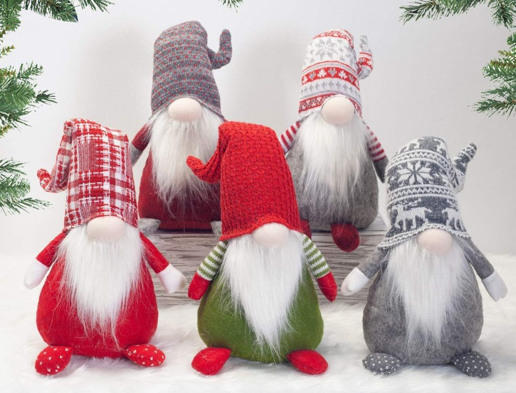 Santa's lazy gnomes on Amazon