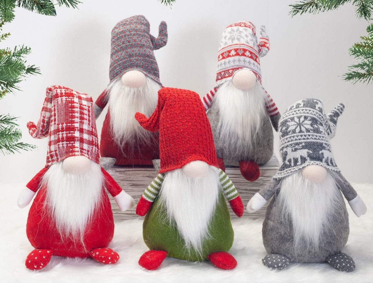 Santa's lazy gnomes on Amazon