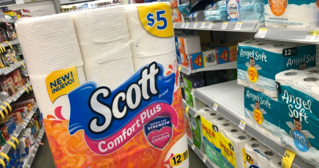 New 1 1 Scott Toilet Paper Coupon 12 Count Packs Only 2 After