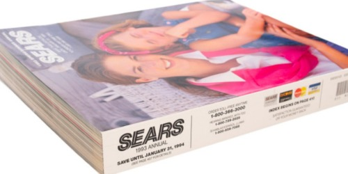 1993 SEARS Catalog Only $9.99 Shipped (Look Back in Time at 90's Fashion)