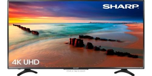 Best Buy: Sharp 50″ ROKU 4K TV Just $299.99