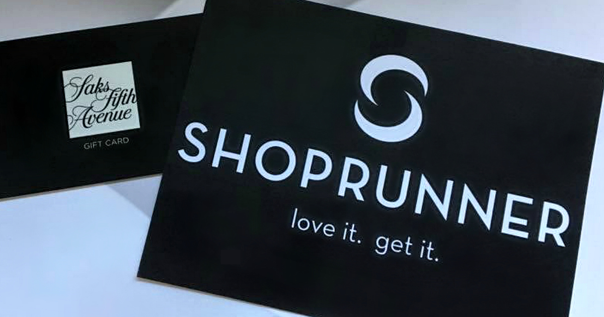 free year shoprunner membership deal – shoprunner placard