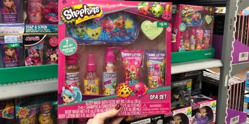 Children's Bath & Body 7-Piece Spa Sets as Low as $7 on Walmart.com (Shopkins, Barbie & More)