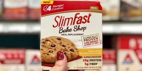 Over 60% Off SlimFast Bake Shop Cookies & Supplements at Target (In-Store & Online)