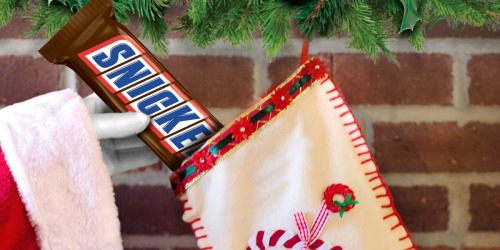 Amazon: Snickers 1-Pound Chocolate Bar Only $8 Shipped