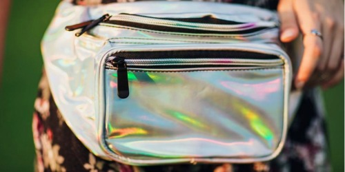 Amazon: SoJourner Holographic Fanny Pack Only $11 Shipped