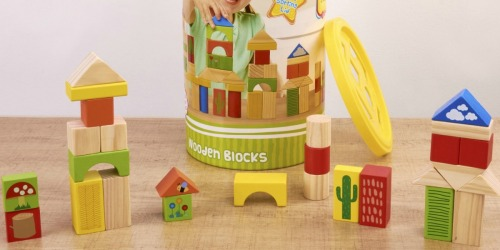 Walmart: 150-Piece Wooden Blocks Set Just $7.88 (Regularly $20)