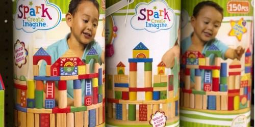 Walmart: 150-Piece Wooden Blocks Set Just $7.88 (Regularly $20)