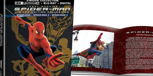 Spider-Man 3-Movie Limited Edition Box Set Only $26.19 Shipped at Amazon (Regularly $86)