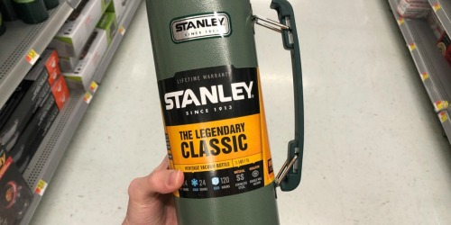 Amazon: Up to 50% Off Stanley Stainless Steel Bottles + Free Shipping (Today Only)