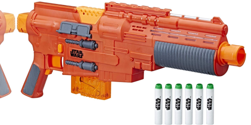 Amazon: Star Wars Nerf Sergeant Jyn Erso Deluxe Blaster Only $10 Shipped (Regularly $50)