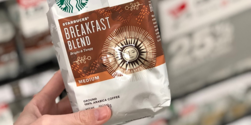 Amazon: Starbucks Ground Coffee 20oz Bag Just $8.42 Shipped