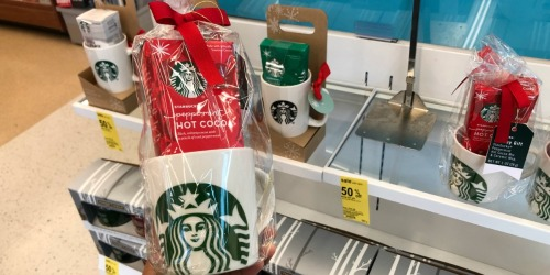 50% Off Starbucks & Yankee Candle Gift Sets at Walgreens