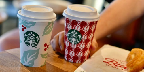Buy 1, Get 1 FREE Starbucks Holiday Drinks (December 6th After 3pm)