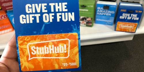 Over 10,000 Win $50 Fandango or Stub Hub Gift Cards (Enter Daily)