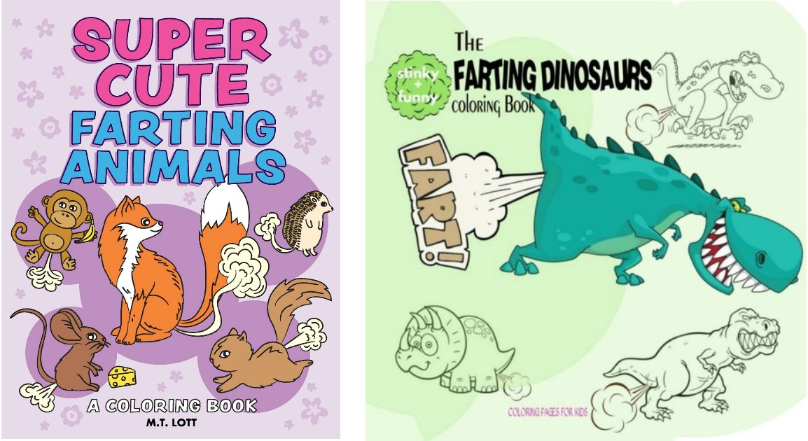 Amazon The Farting Animals Coloring Book Only 4 60 Shipped More