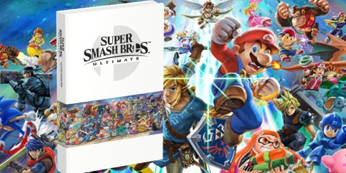 GameStop: Super Smash Bros. Ultimate Collector's Edition Official Strategy Guide Only $20 (Regularly $40)
