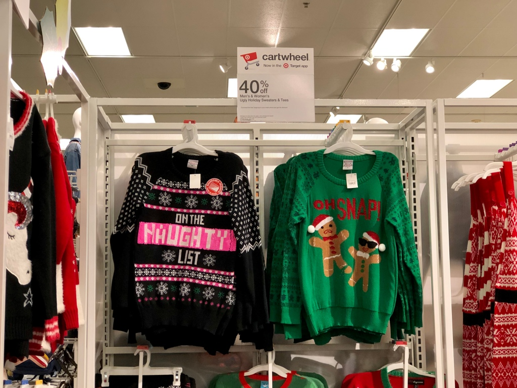 5a64481e9e9e Women's Ugly Christmas Sweaters as low as $27.99 40% off discount  automatically applied during checkout. Or use the 40% off Ugly Holiday  Sweaters & Tees ...