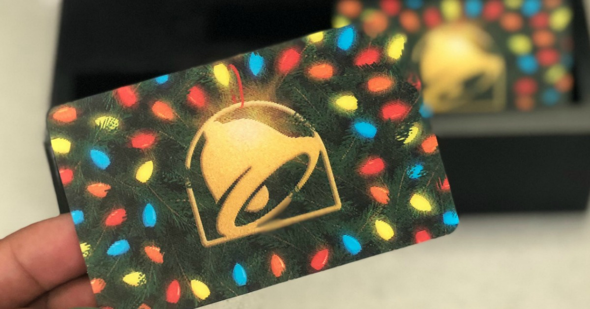 Taco Bell Hours Christmas.Buy 10 Taco Bell Gift Card 5 Bonus Gift Card Hip2save