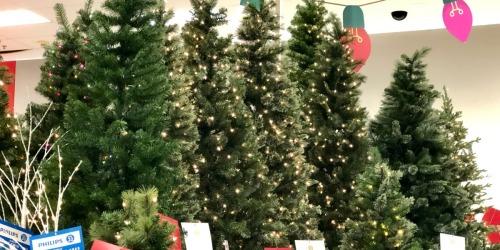 Up to 50% off Christmas Decor at Target