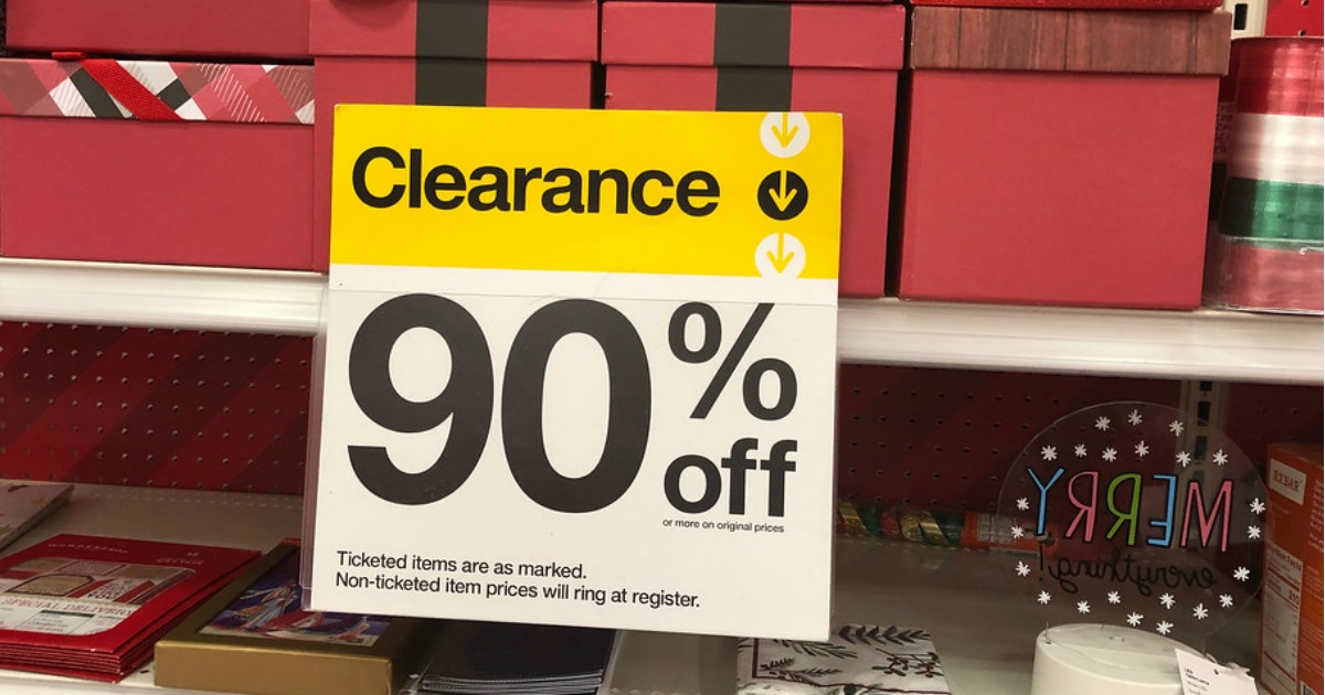 Up To 90% Off Christmas Clearance At Target