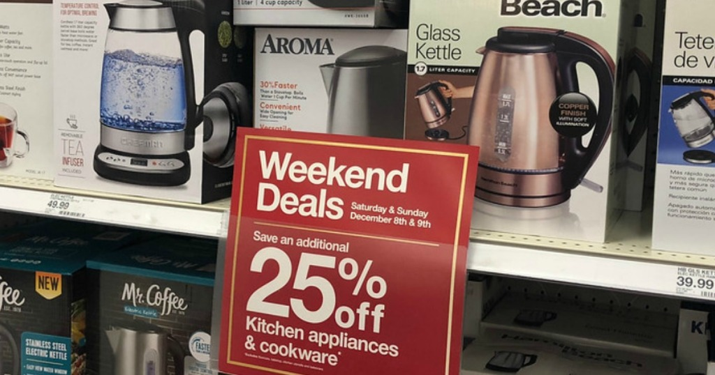 Up To 40 Off Kitchen Appliances Cookware At Target In Store
